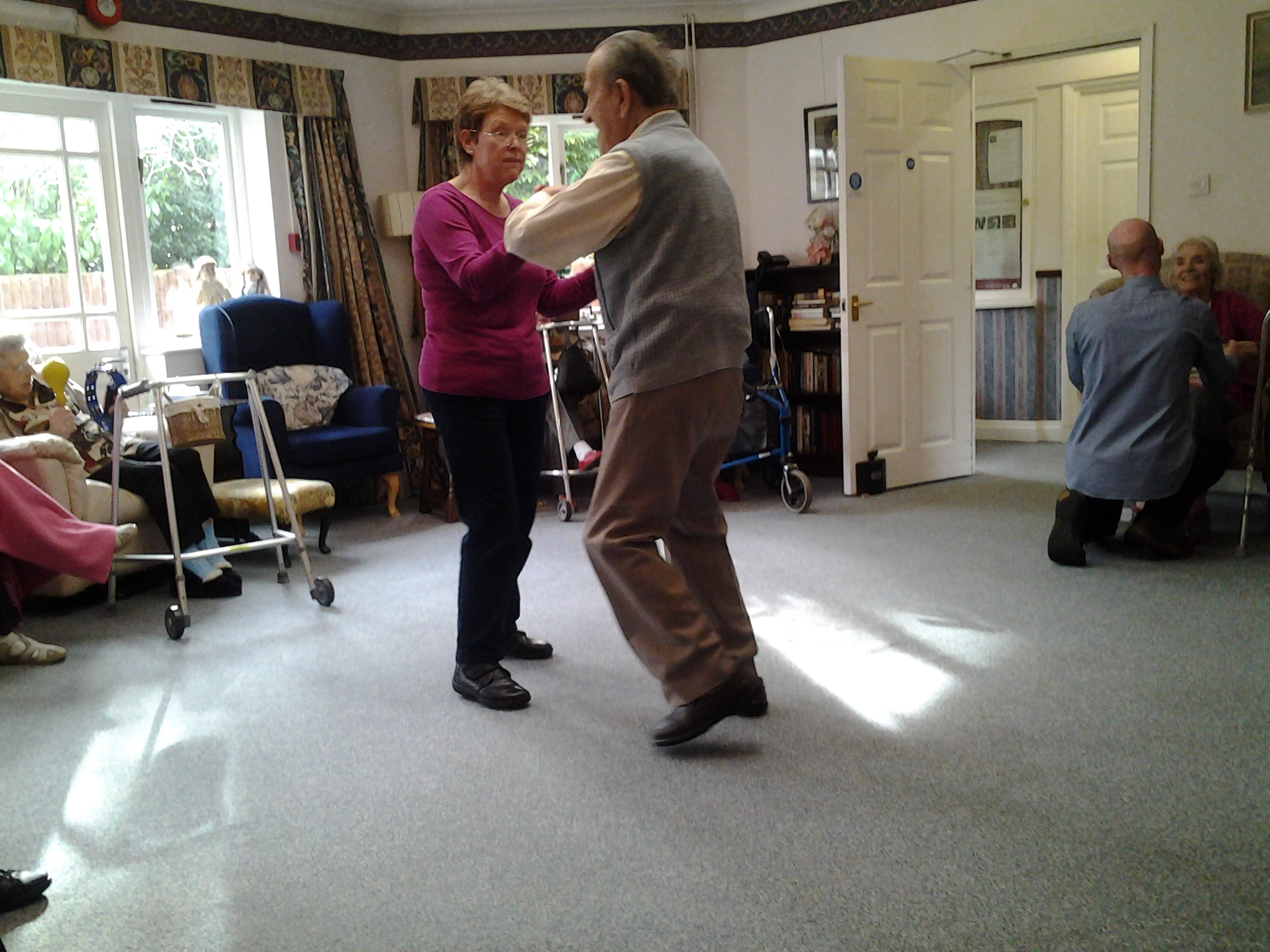 Dancing Activies At Abbey Dean